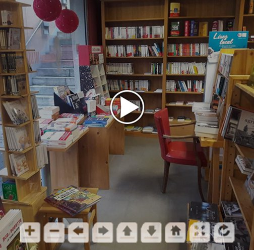 Librairie Willems - Visite virtuelle